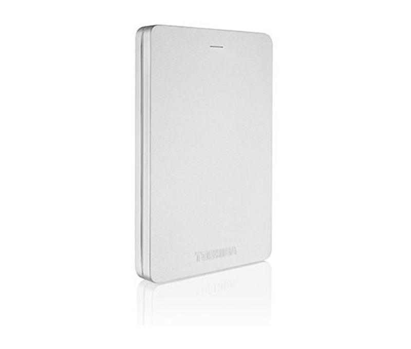 "Накопитель внешний HDD 2.5"" USB 1.0TB Toshiba Canvio Alu 2018 Silver (HDTH310ES3AB)"