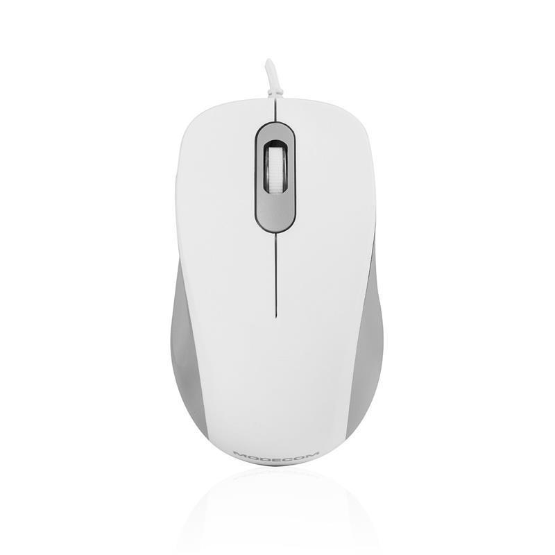 Мышь Modecom MC-M10S (M-MC-M10S-200) White USB