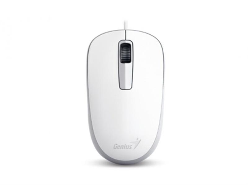 Мышь Genius DX-125 White (31010106102) USB