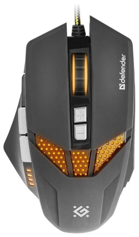 Мышь Defender Warhead GM-1780 (52780) Black USB