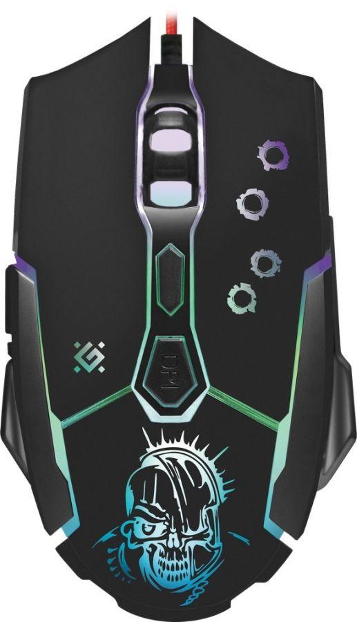 Мышь Defender Killer GM-170L (52170) Black USB