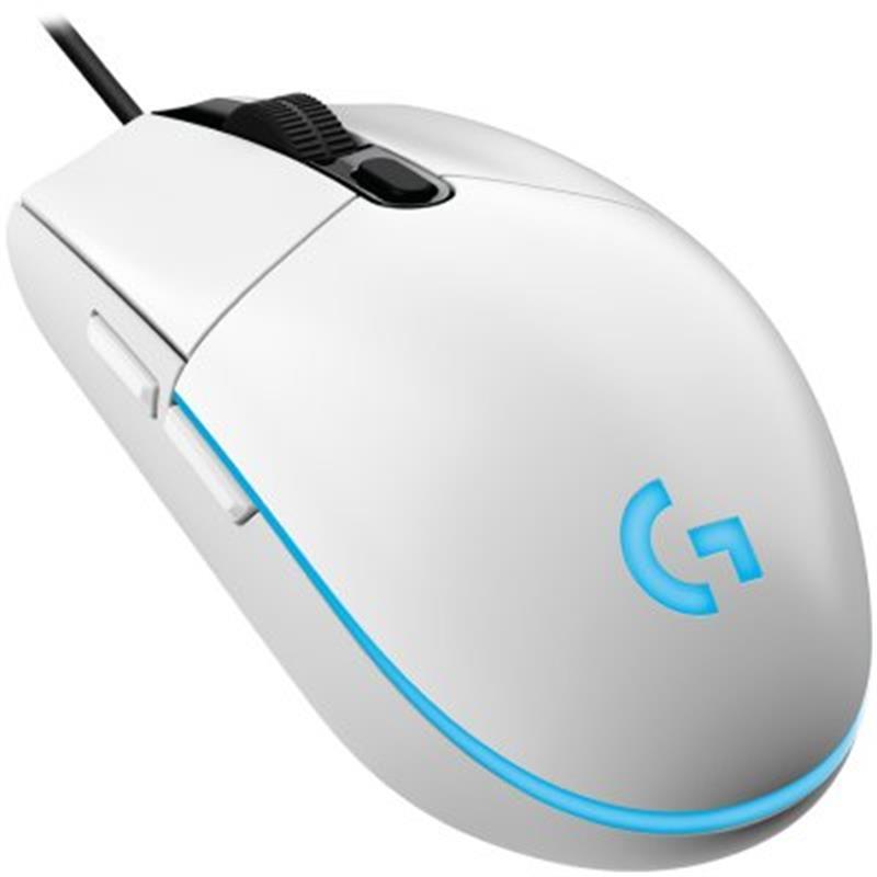 Мышь Logitech G102 Lightsync (910-005824) White USB