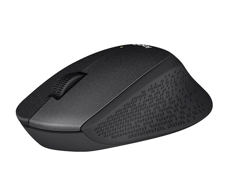 Мышь беспроводная Logitech M330 Silent Plus (910-004909) Black