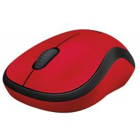 Мышь беспроводная Logitech M220 Silent (910-004880) Red USB