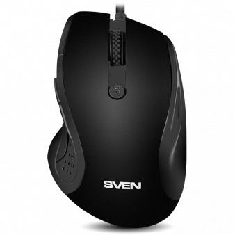 Мышь Sven RX-113 Black USB