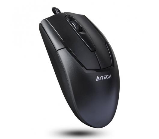 Мышь A4Tech N-301 Black USB V-Track