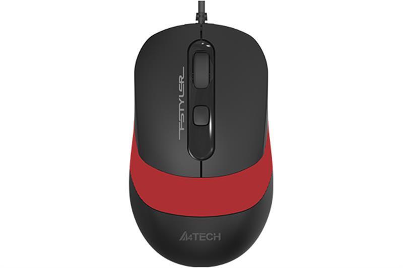 Мышь A4Tech FM10 Black/Red USB