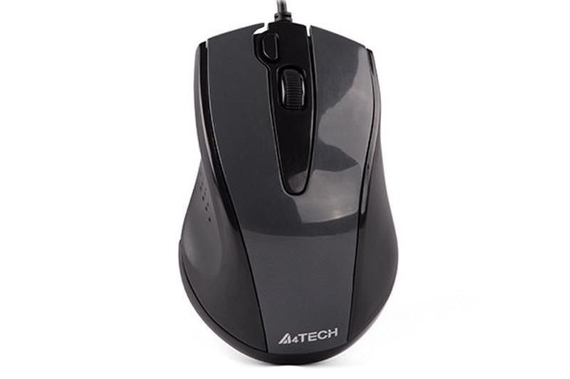 Мышь A4Tech N-500FS Black USB