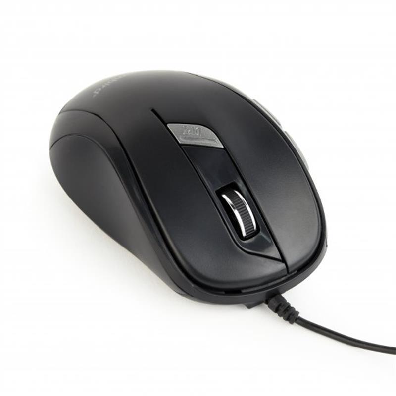 Мышь Gembird MUS-6B-01 Black USB
