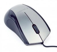 Мышь Gembird MUS-3B-02-BG Black/Grey USB