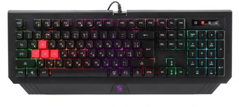 Клавиатура A4Tech Bloody B120N Black USB