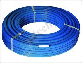 Труба металлопластиковая Henco СТАНДАРТ DN20 x 2,0 PN16 (в бухтах кратно 50 м), белая в син.изол.