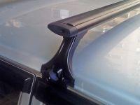 Багажник на крышу на ВАЗ 2101-07, Delta, аэродинамические (крыловидные) дуги, черный цвет