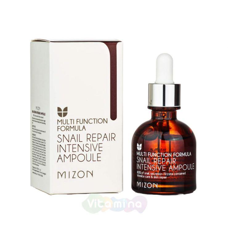 Сыворотка с экстрактом улитки - Mizon Snail Repair Intensive Ampoule