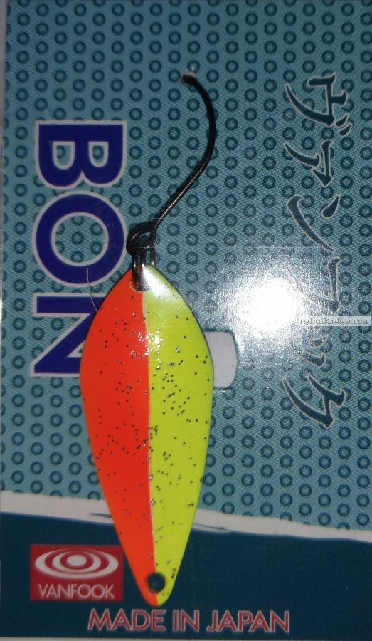 Блесна колеблющаяся Troutland Bon 3,2 гр / цвет:  22