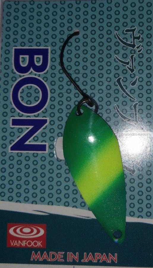 Блесна колеблющаяся Troutland Bon 3,2 гр / цвет:  GLO13