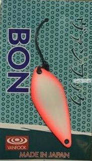 Блесна колеблющаяся Troutland Bon 3,8 гр / цвет:  GLO37