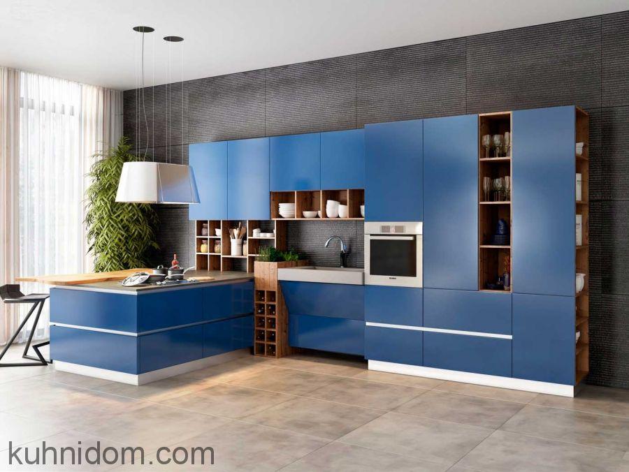 Кухня Fenix NTM 0721 Blue Delft