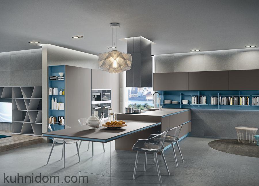 Кухня Fenix NTM 0752 Grigio Antrim