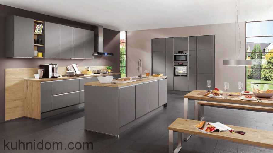 Кухня Fenix NTM 2638 Titanio Doha