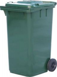 Мусорный контейнер МКТ 240 зеленый