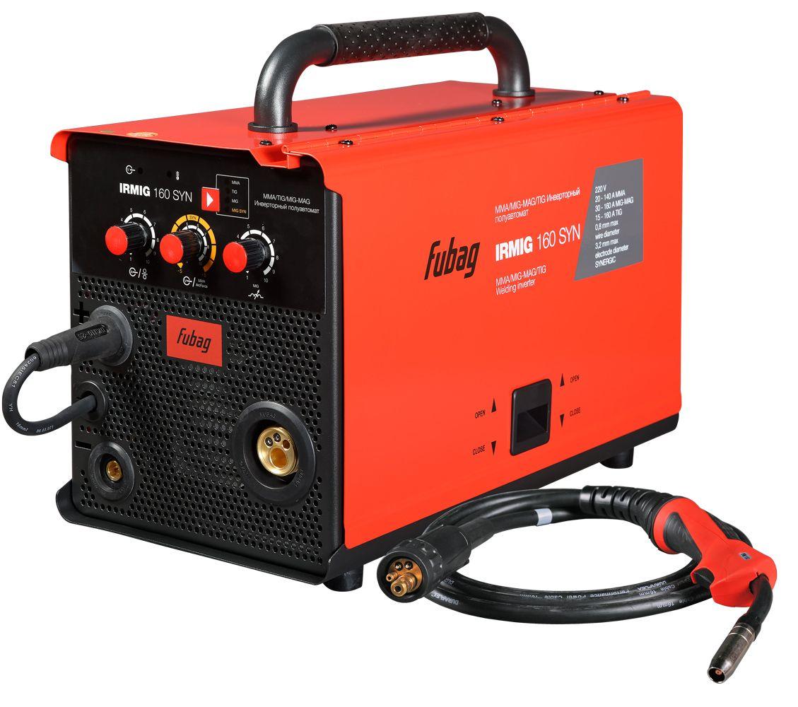 FUBAG Сварочный инверторный полуавтомат IRMIG 160 SYN с горелкой FB 150 3 м