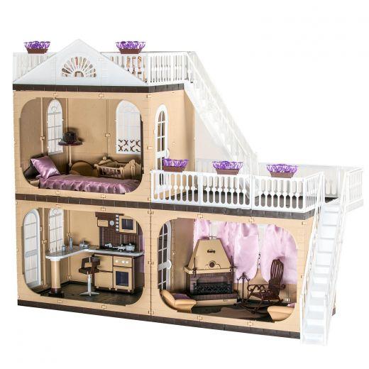 Кукольный домик Kids 2 этажа