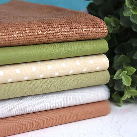 Набор тканей для пошива Лесной
