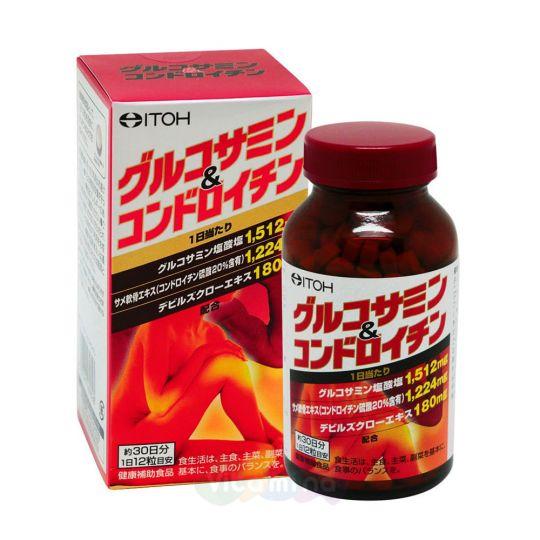 ITOH Глюкозамин + Хондроитин Glucosamine & Chondroitin, 360 табл