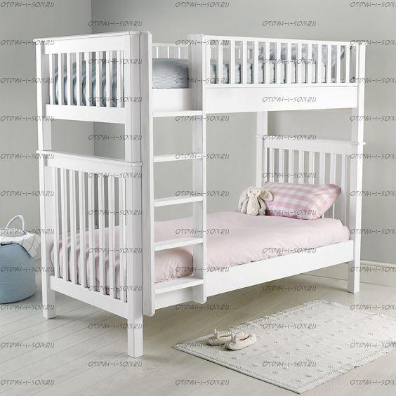 Кровать двухъярусная Классика №12