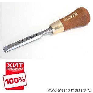 Стамеска зачистная короткая с ручкой WOOD LINE PLUS  12 мм Narex  811062 ХИТ!