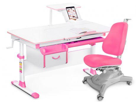 Комплект «Mealux» EVO-40: парта + кресло + полка + подставка для книг