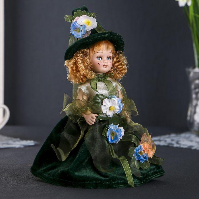 Кукла Флора в зелёном