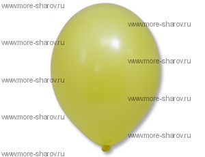 "Шар 14""(34см) Belbal Yellow 006"