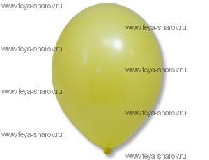 "Шар 14""(34см) Belbal Yellow 006"