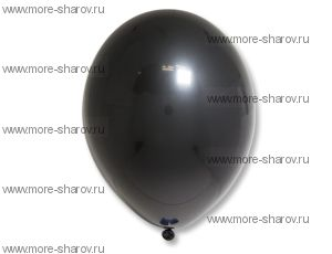 "Шар 14""(34см) Belbal Black 025"