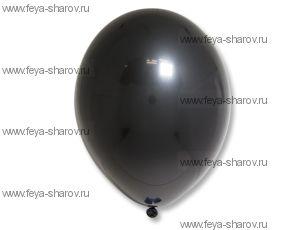 "Шар 14""(34см) Belbal Black 025"