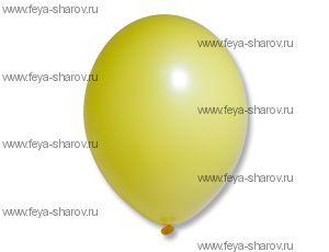 "Шар 14""(34см) Belbal Bright Yellow 117"