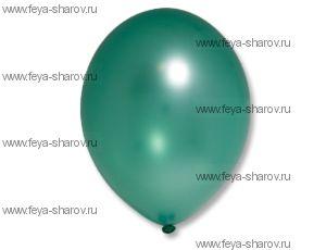 "Шар 14""(32см) Belbal Green 063 Металлик"