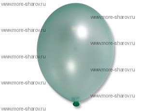 "Шар 14""(32см) Belbal Light Green 074 Металлик"