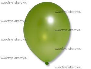 "Шар 14""(32см) Belbal Apple Green 078 Металлик"