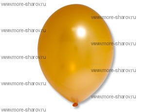"Шар 14""(32см) Belbal Orange 081 Металлик"
