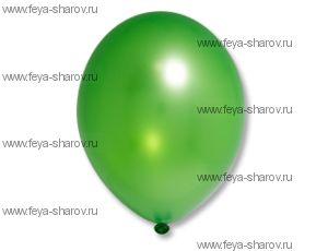 """Шар 14""""(32см) Belbal Lime Green 083 Металлик"""