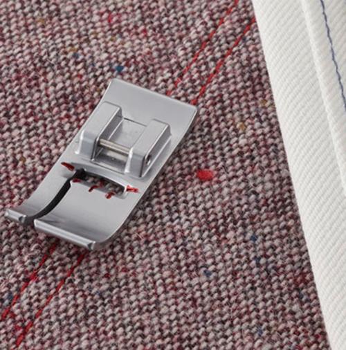 Двухуровневая лапка для швейных машин Brother‒ левая позиция
