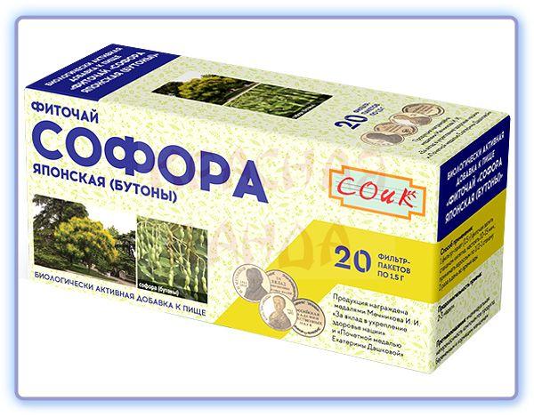 Фиточай Софора японская бутоны СОИК