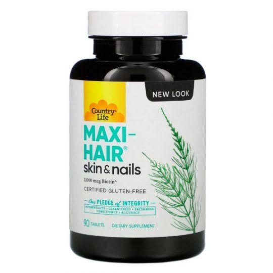Витамины для волос MAXI-HAIR, 90 таблеток