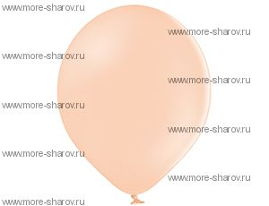 "Шар 14""(34см) Belbal 453 Peach Cream"