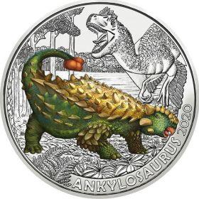 Анкилозавр 3 евро Австрия 3 евро 2020 на заказ