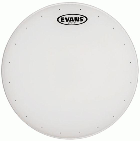 """EVANS B14HDD Genera HD Dry Пластик для барабана 14"""" белый"""