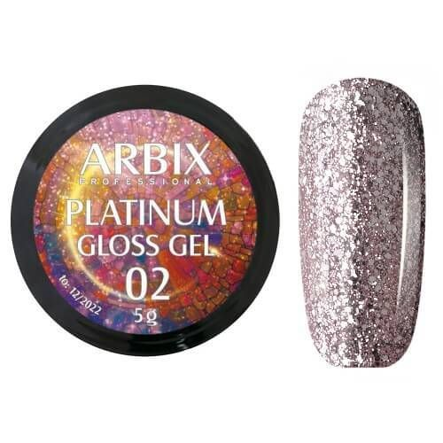 PLATINUM GLOSS GEL ARBIX 02 5 г